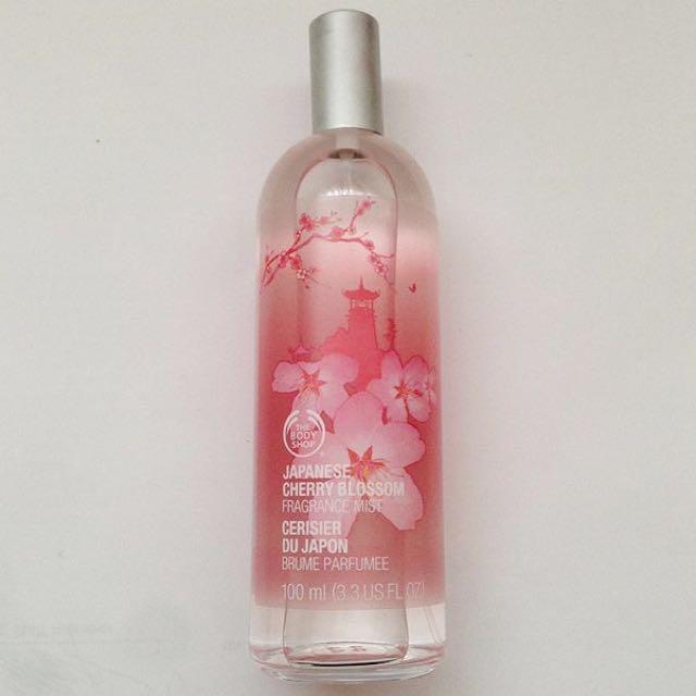 The Body Shop Japanese Cherry Blossom Fragrance