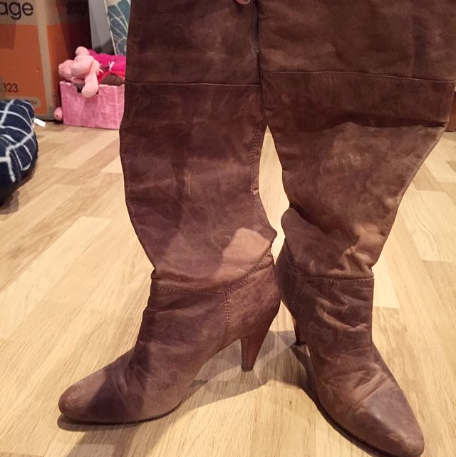 💍Tony Bianco Real Leather Boots