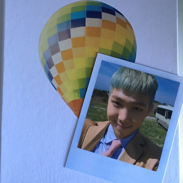 TRADE - BTS RM Young Forever Polaroid