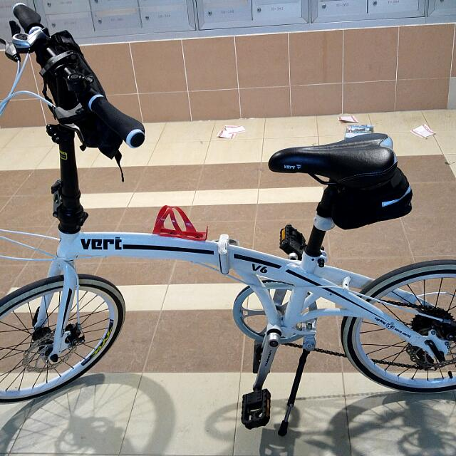 Vert Foldable Bicycle