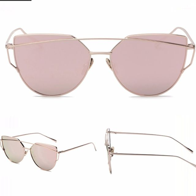 Vintage Metal Sunglasses - FREE SHIPPING