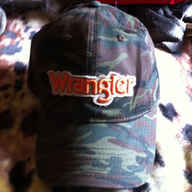Wrangler Jeans Camo Hat