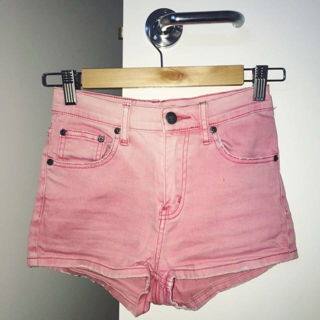 Ziggy Denim* High Waisted Shorts