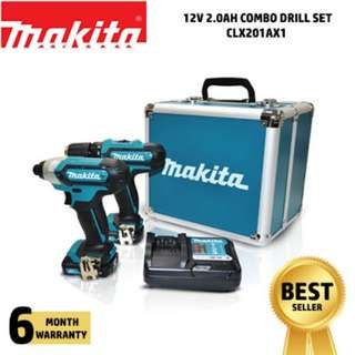 Makita Combo Drill Kit - CLX201AX1