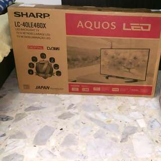 Selling Off Brand New TV : Sharp LC- 40LE460X