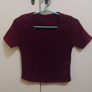 Ribbed / Knitted Crop Top