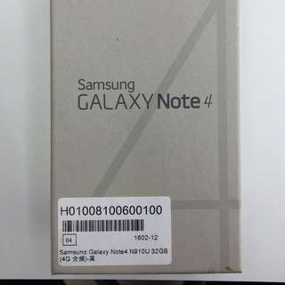 NOTE4 32g 黑色