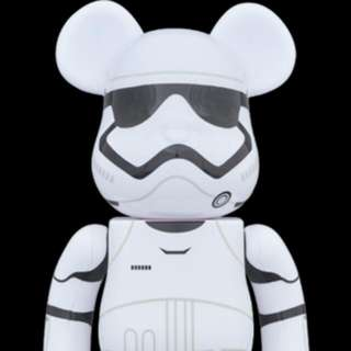 be@rbrick First Order stormtrooper 400%