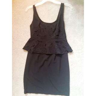 Cute Black Laced Dress