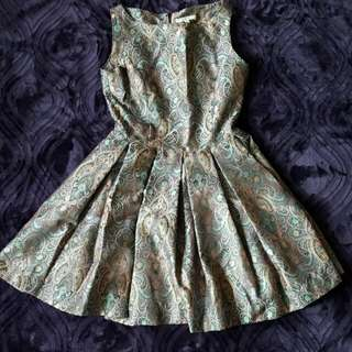 Offer Made - Paisley Patterned Flare Dress