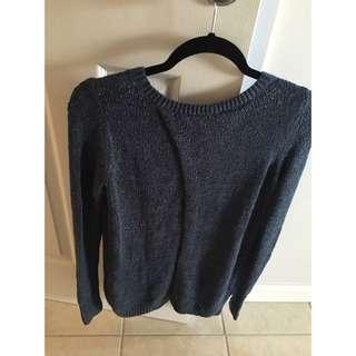 Abercrombie Split Back Sweater
