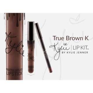 Kylie Jenner Lip Kit - True Brown K