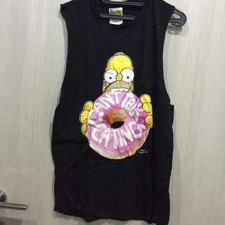 forever 21 the simpson tank top