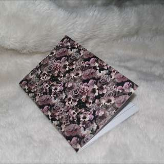 H&M Floral Notebook
