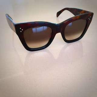 Céline Catherine Tortoise Sunglasses