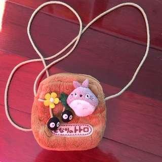 Mini Totoro Pouch