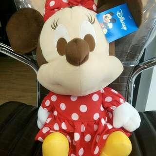 便宜降價出售正版布娃娃可愛米妮免運唷!