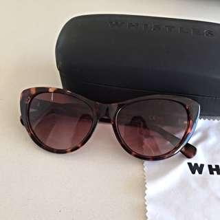 Whistles Tortoise Sunglasses