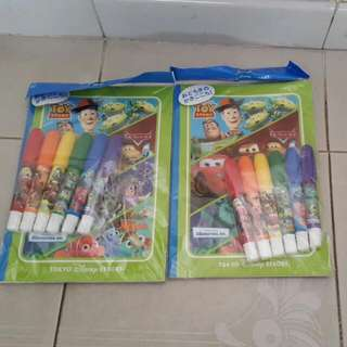 BN - TOY STORY COLOURING BOOKS FROM TOKYO DISNEY RESORT