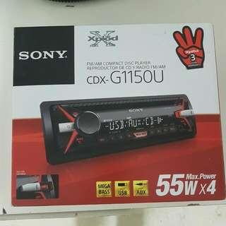 Sony Xplod In Car Cd Player