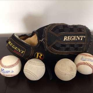 Regent 21/2 Inch Baseball Gloves