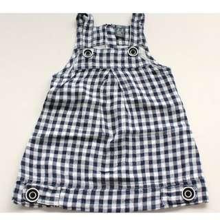 ZARA Linen Jumper Dress
