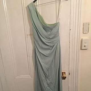 Lisa ho- Size 8 Dress Mint