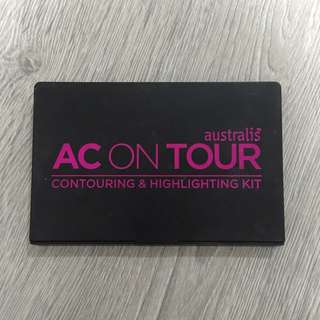 AC ON TOUR Contouring & Highlighting Palette