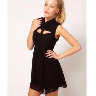 Glamorous - Open Shirt Dress - Black (UK10)