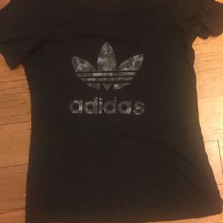 Adidas Original Black Tie Dye T-Shirt