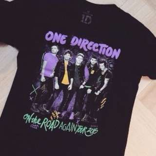 One Direction Official Merch : On The Road Again Tour 2015 T-shirt