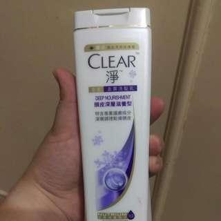 CLEAR淨去屑洗髮乳-頭皮深層滋養型