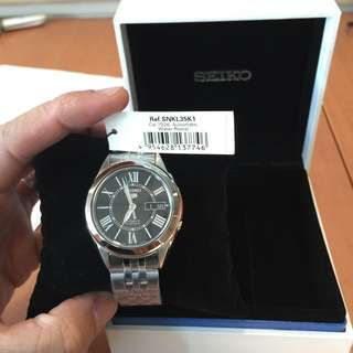Brand New Seiko 5 Automatic Watch SNKL35K1