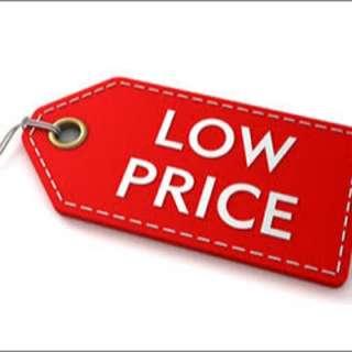 reducing everything!! name a price