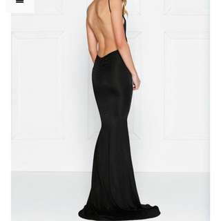 Black Evening Gown Xs