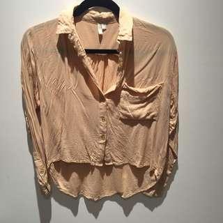 Sadie Light Orange Shirt