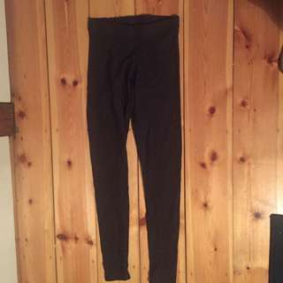 Black Milk Matte Black Leggings Size S