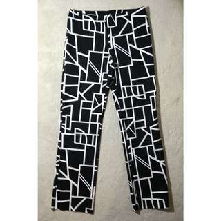 Vintage Geometric Pants Size 10