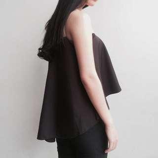 mikaela top black