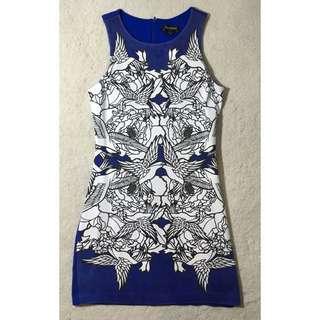 Blue juice Printed Dress