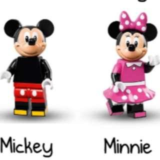 FREE - LEGO DISNEY MINIFIGURES - MICKEY & MINNIE