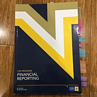 CPA Program Financial Reporting