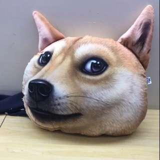 3d立體柴犬狗狗搞怪表情抱枕