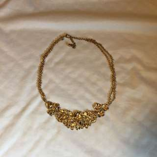 "Short ""Gold"" Necklace"