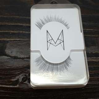 10 Pairs Of False Eyelashes Style 'Cutie'