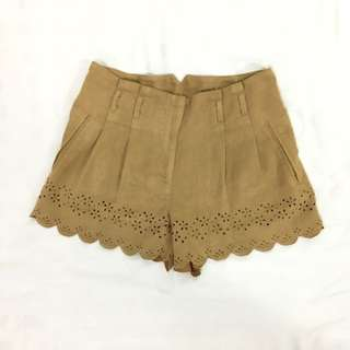 Miss Selfridge Brown Shorts