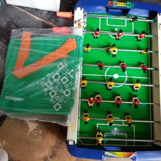 Giveaway:Table Soccer Game+vitagen Cooler Bag+16inch Fan Blade.