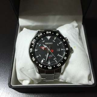 [Used] SEIKO SPORTURA KINETIC GMT WATCHES SUN015P1