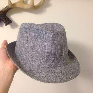 混麻紳士帽 Size 57