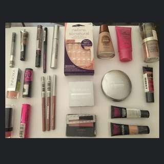 FREE POSTAGE Makeup Lot